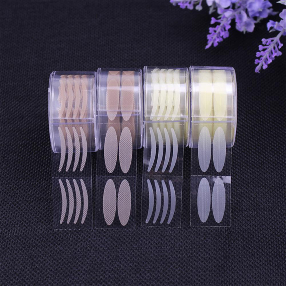 600Pcs/Roll Invisible Wide/Narrow Makeup Double Eyelid Tape Sweatproof Sticker