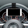 Universal Car Steering Wheel Clip Mount Holder Cradle Stand for Cell Phone GPS