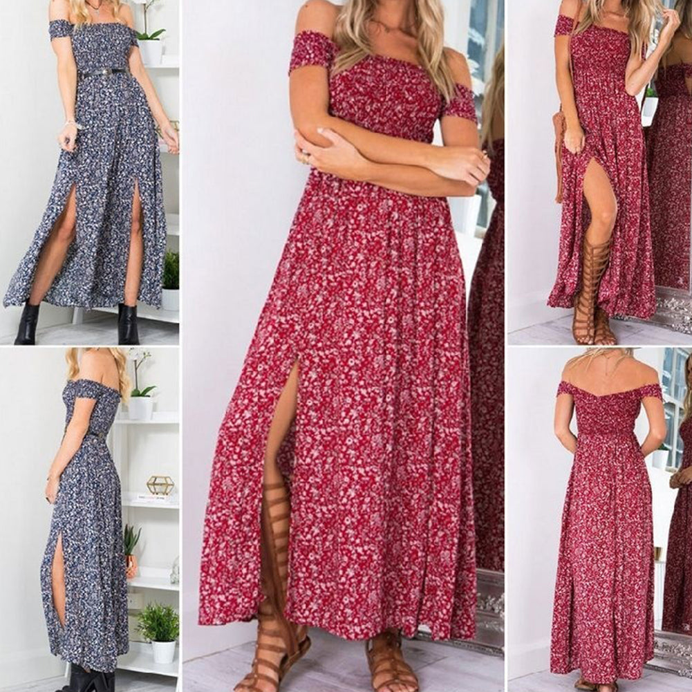 New Style Women's  Long Maxi Summer Party Dress: - SultanBox