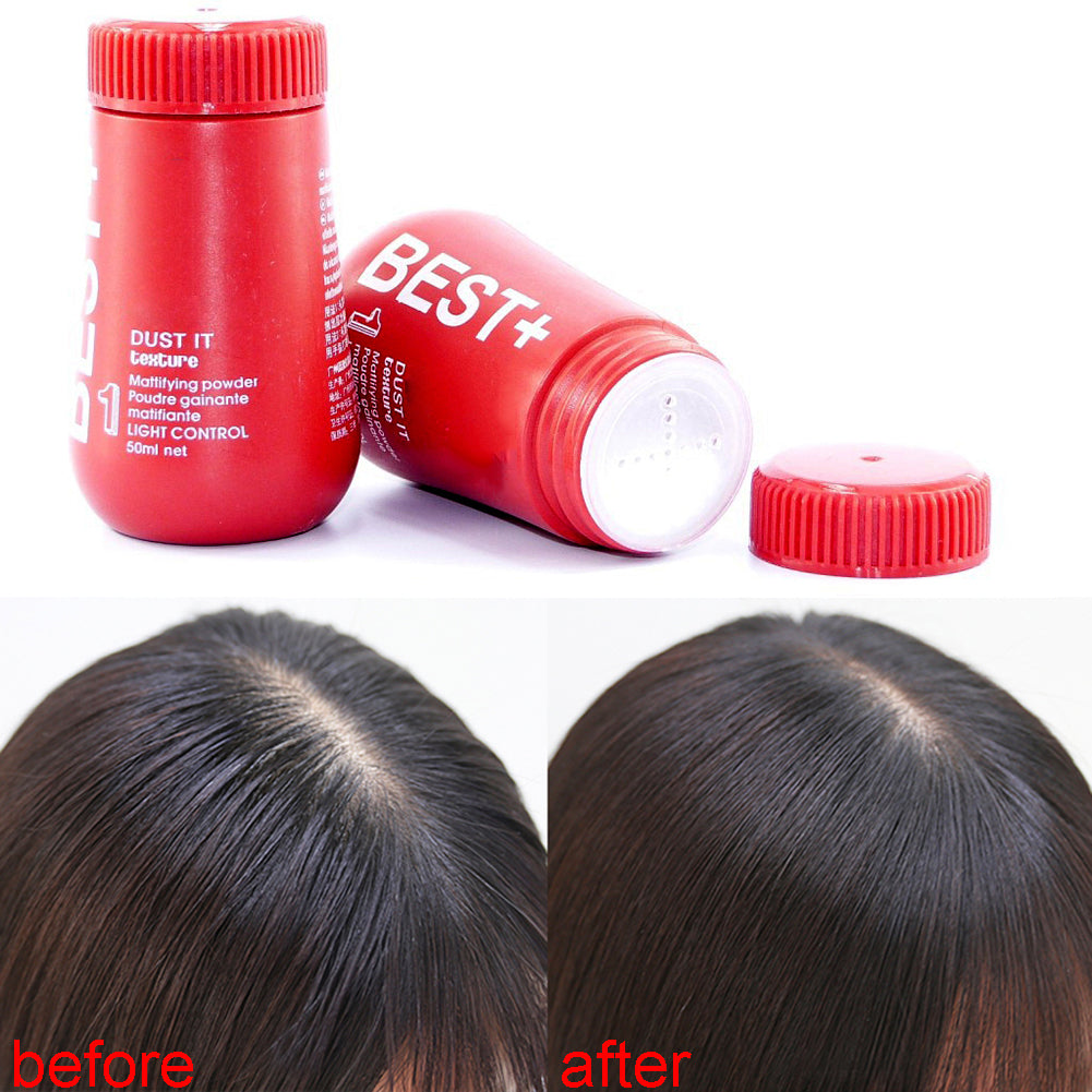 Hair Powder Mattifying Volume Finalize Design Styling Gel Hairspray Hairstyle