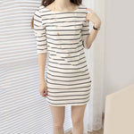Summer Elbow Sleeve Slim Fit Party Dress - SultanBox
