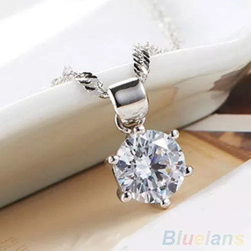 3PCS Wedding Zircon Gem Jewelry (Set)
