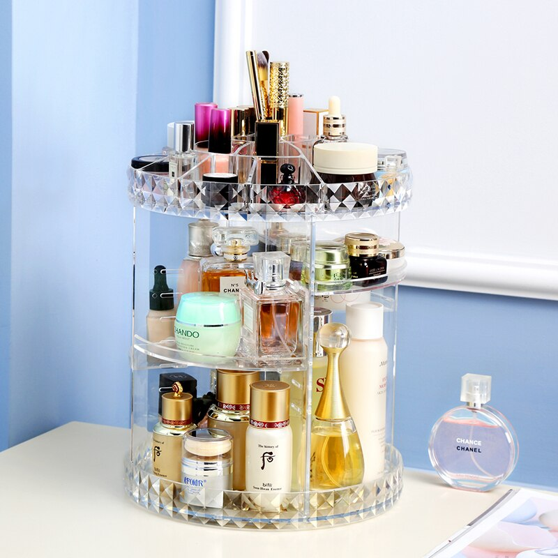 Rotating Cosmetic Storage Box - SultanBox