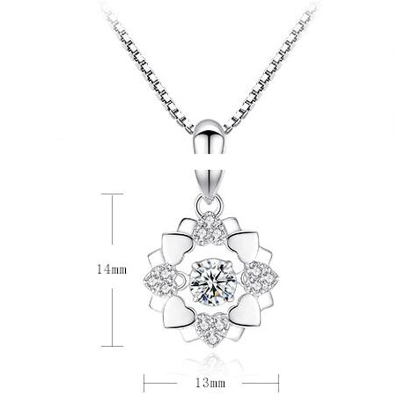 New Fashion Heart Necklaces for Women - SultanBox