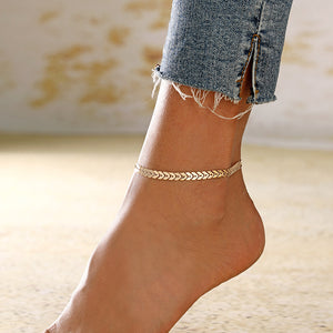 Arrow Chain Fashion Anklet