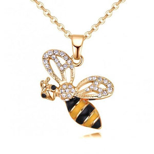 BEE Glazed Chain Necklace
