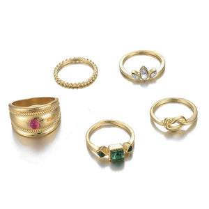 Diamond Gold Ring Set