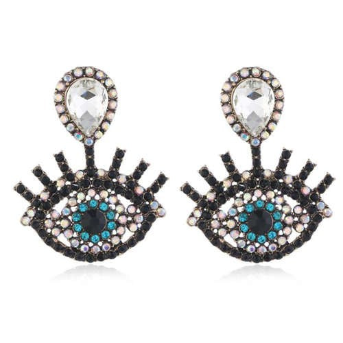 Vintage Eye Fashion Earrings