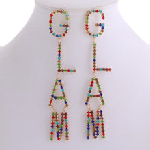 Load image into Gallery viewer, Glam Dangle Earrings