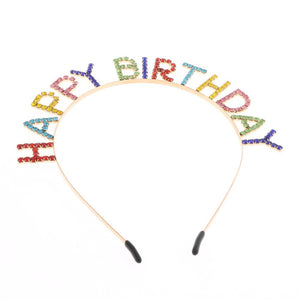 Happy Birthday Head Band