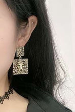 Load image into Gallery viewer, Lion Dangle Earrings