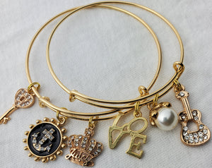 Beautiful Custom Charm Bracelets (Juicy)