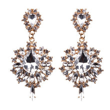 Load image into Gallery viewer, Rhinestone High Fashion Earrings
