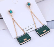 Load image into Gallery viewer, Handbag Dangle Earrings