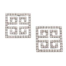 Load image into Gallery viewer, Square Fashion Earrings