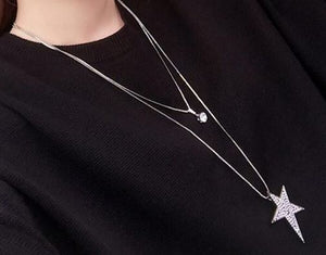 Star Chain Layered Necklace