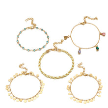 Load image into Gallery viewer, Fashion Vintage Anklet Set
