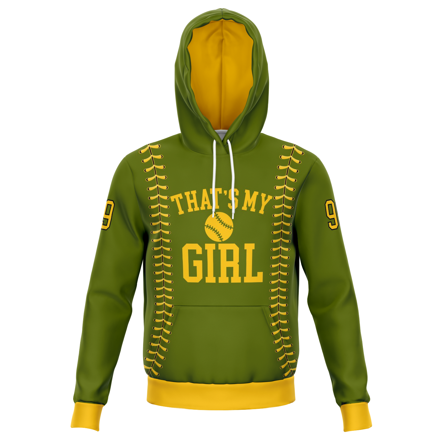 Customized 'That's My Girl/Boy' Hoodie