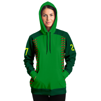 CLASSIC STITCHES SERIES HOODIE (ALL GREEN)