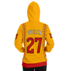 CLASSIC SERIES HOODIE (YELLOW/ RED)