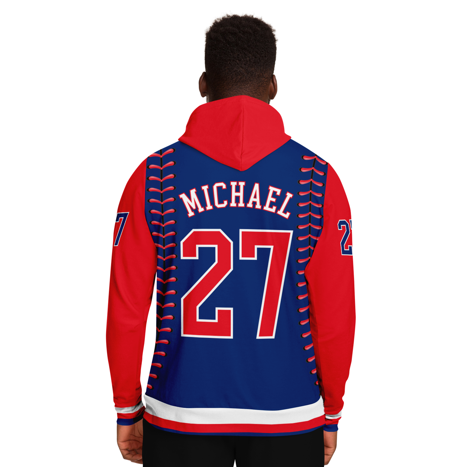 CLASSIC SERIES HOODIE (PHILLIES BLUE/ RED)