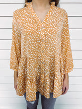 Load image into Gallery viewer, Jamie Leopard Print Tunic - Coral