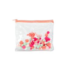 Load image into Gallery viewer, Dollface Pouch - Pom Poms