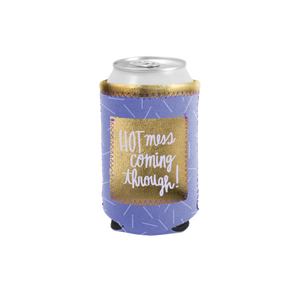 Pocket Can Cooler - Hot Mess