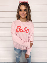 Load image into Gallery viewer, Babe Sweatshirt