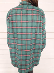 Tinsley Plaid Flannel - Green