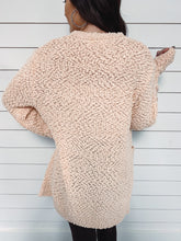 Load image into Gallery viewer, Liza Open Popcorn Cardigan - Peach