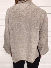 Load image into Gallery viewer, Poppy Dolman Ribbed Sweater - Mocha