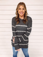 Load image into Gallery viewer, Kathryn Stripe Knit Sweater