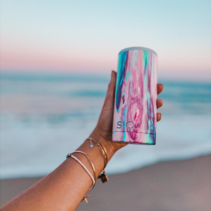 SIC Cups Slim Can Cooler - Cotton Candy