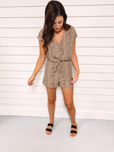 Load image into Gallery viewer, Livi Cheetah Print Romper
