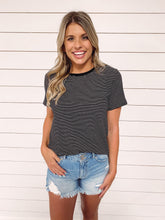 Load image into Gallery viewer, Eastside Striped Short Sleeve Tee