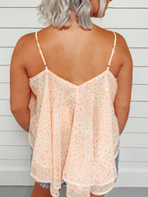 Load image into Gallery viewer, Daisy Layered Floral Tank