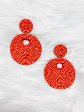 Load image into Gallery viewer, Firework Beaded Earrings
