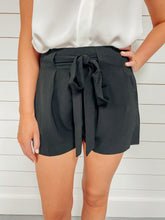 Load image into Gallery viewer, On Time High Waisted Shorts - Black