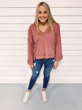Load image into Gallery viewer, Courtney Ribbed Knit Top