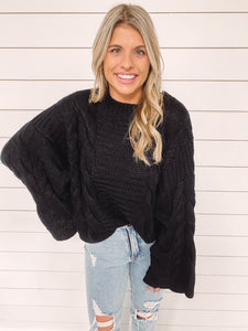 Valley Cable Knit Sweater