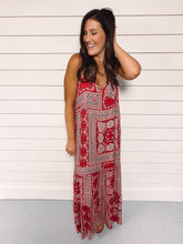 Load image into Gallery viewer, LOVESTITCH - Paisley Maxi Dress