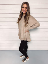 Load image into Gallery viewer, Corey Oversized Cozy Tunic - Taupe