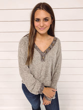 Load image into Gallery viewer, Kory Long Sleeve Knit Top - Mocha