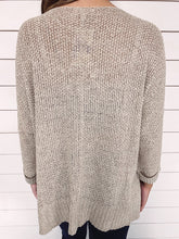 Load image into Gallery viewer, Veronica Knit Sweater - Taupe