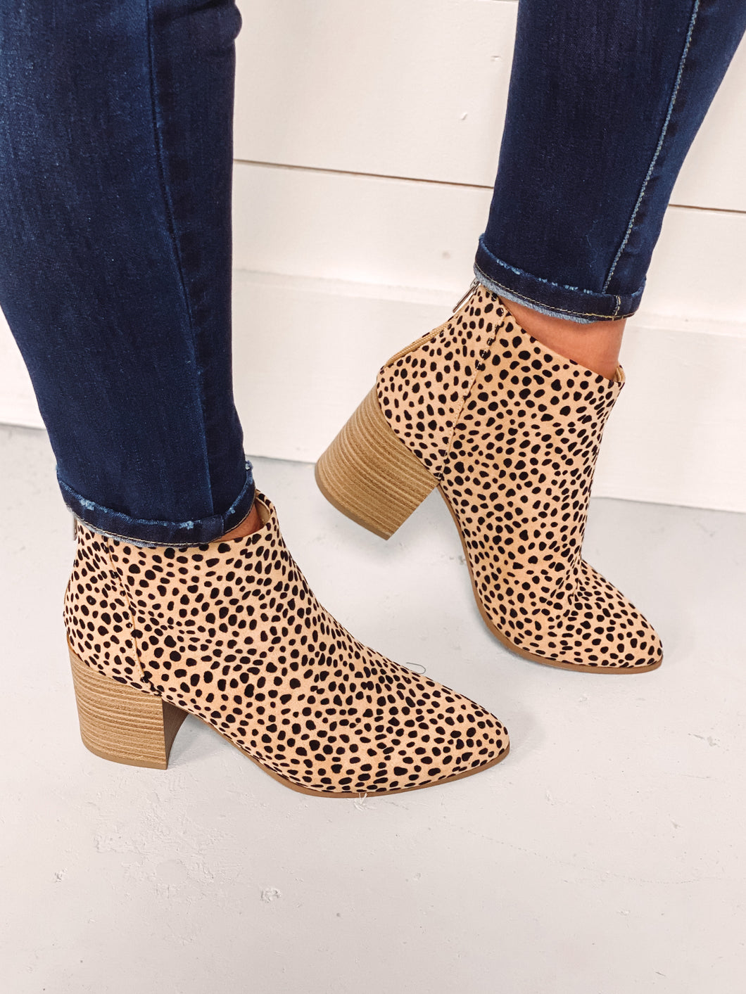 Kesha Cheetah Print Booties