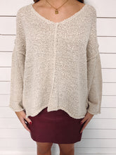 Load image into Gallery viewer, Aria Knit Sweater - Taupe