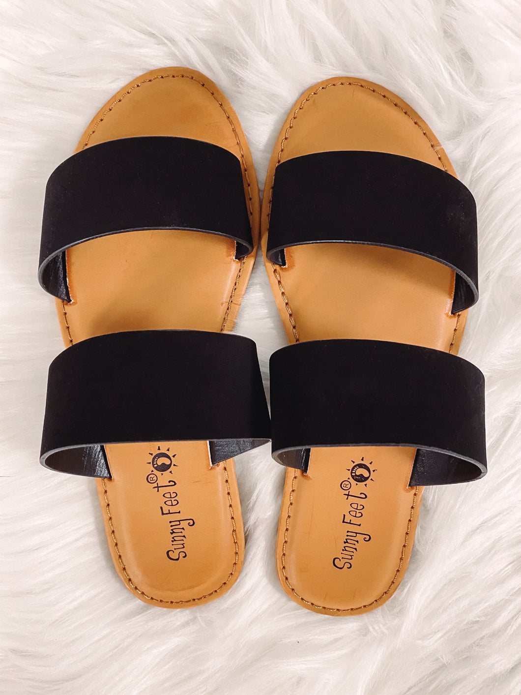 Willow Slide Sandal - Black