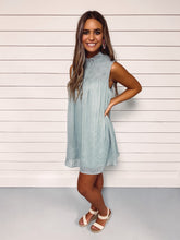 Load image into Gallery viewer, Kelsey Seafoam Smocked Dress