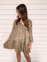 Load image into Gallery viewer, Carmen Cheetah Print Dress